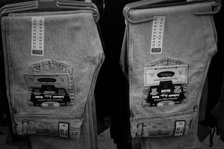 Aztec Blue Jeans